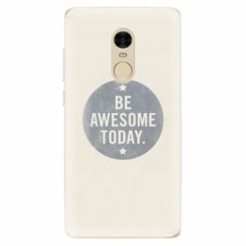 Odolné silikonové pouzdro iSaprio - Awesome 02 - Xiaomi Redmi Note 4