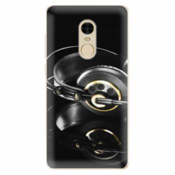 Odolné silikonové pouzdro iSaprio - Headphones 02 - Xiaomi Redmi Note 4