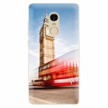 Odolné silikonové pouzdro iSaprio - London 01 - Xiaomi Redmi Note 4