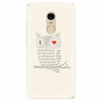 Odolné silikonové pouzdro iSaprio - I Love You 01 - Xiaomi Redmi Note 4