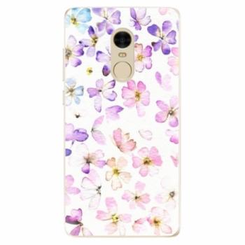 Odolné silikonové pouzdro iSaprio - Wildflowers - Xiaomi Redmi Note 4