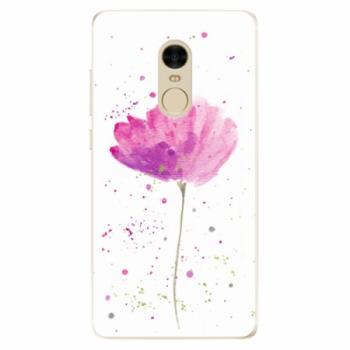 Odolné silikonové pouzdro iSaprio - Poppies - Xiaomi Redmi Note 4