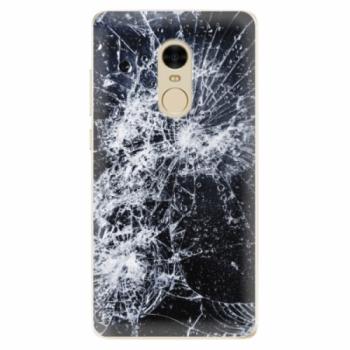 Odolné silikonové pouzdro iSaprio - Cracked - Xiaomi Redmi Note 4