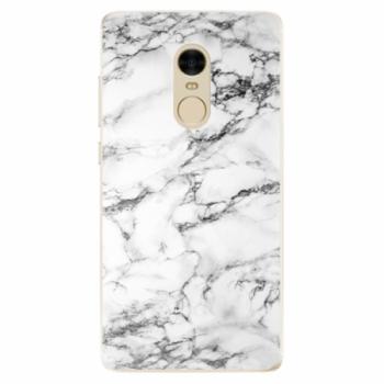 Odolné silikonové pouzdro iSaprio - White Marble 01 - Xiaomi Redmi Note 4