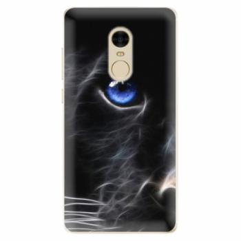 Odolné silikonové pouzdro iSaprio - Black Puma - Xiaomi Redmi Note 4