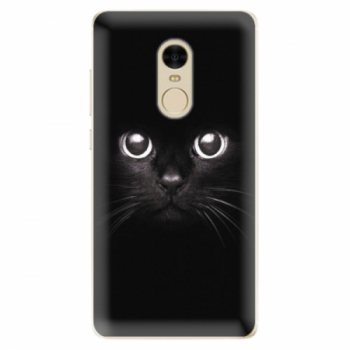 Odolné silikonové pouzdro iSaprio - Black Cat - Xiaomi Redmi Note 4
