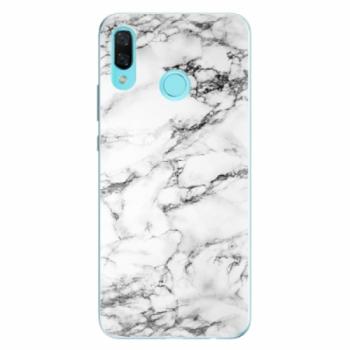 Odolné silikonové pouzdro iSaprio - White Marble 01 - Huawei Nova 3