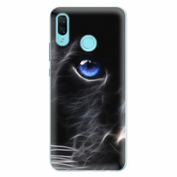 Odolné silikonové pouzdro iSaprio - Black Puma - Huawei Nova 3