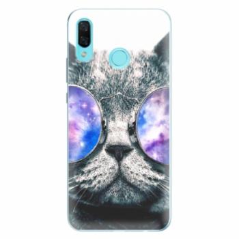 Odolné silikonové pouzdro iSaprio - Galaxy Cat - Huawei Nova 3