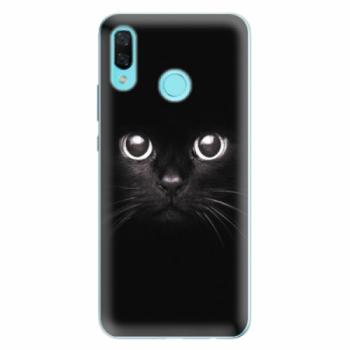 Odolné silikonové pouzdro iSaprio - Black Cat - Huawei Nova 3