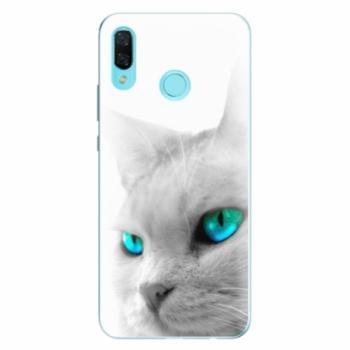 Odolné silikonové pouzdro iSaprio - Cats Eyes - Huawei Nova 3