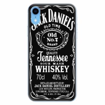 Odolné silikonové pouzdro iSaprio - Jack Daniels - iPhone XR
