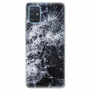 Plastové pouzdro iSaprio - Cracked - Samsung Galaxy A51