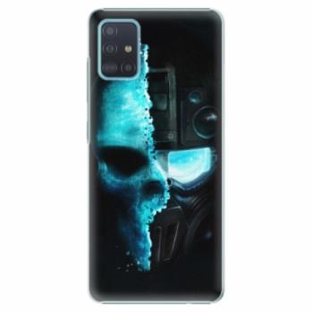 Plastové pouzdro iSaprio - Roboskull - Samsung Galaxy A51
