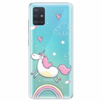 Plastové pouzdro iSaprio - Unicorn 01 - Samsung Galaxy A51