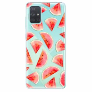 Plastové pouzdro iSaprio - Melon Pattern 02 - Samsung Galaxy A71