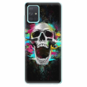 Plastové pouzdro iSaprio - Skull in Colors - Samsung Galaxy A71