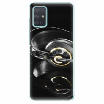 Plastové pouzdro iSaprio - Headphones 02 - Samsung Galaxy A71