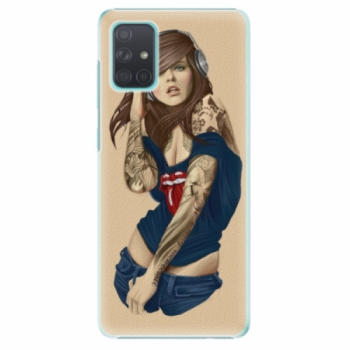Plastové pouzdro iSaprio - Girl 03 - Samsung Galaxy A71