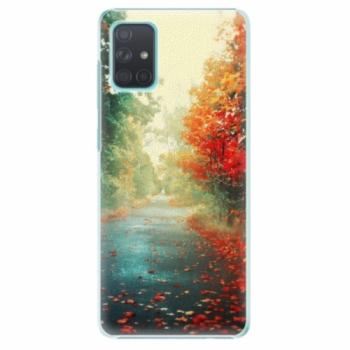 Plastové pouzdro iSaprio - Autumn 03 - Samsung Galaxy A71