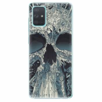 Plastové pouzdro iSaprio - Abstract Skull - Samsung Galaxy A71