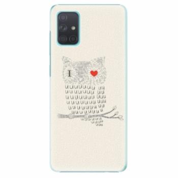 Plastové pouzdro iSaprio - I Love You 01 - Samsung Galaxy A71