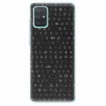 Plastové pouzdro iSaprio - Ampersand 01 - Samsung Galaxy A71