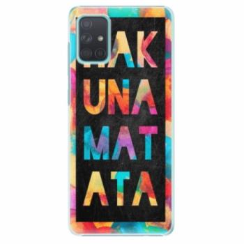 Plastové pouzdro iSaprio - Hakuna Matata 01 - Samsung Galaxy A71