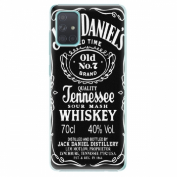 Plastové pouzdro iSaprio - Jack Daniels - Samsung Galaxy A71