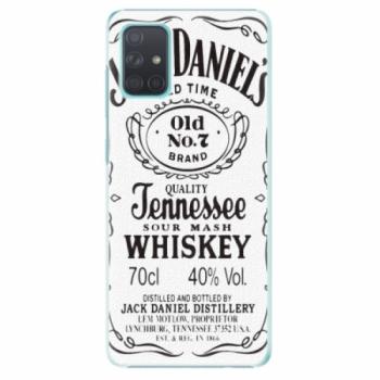 Plastové pouzdro iSaprio - Jack White - Samsung Galaxy A71
