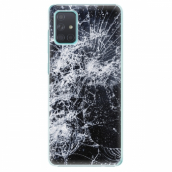 Plastové pouzdro iSaprio - Cracked - Samsung Galaxy A71