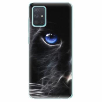 Plastové pouzdro iSaprio - Black Puma - Samsung Galaxy A71