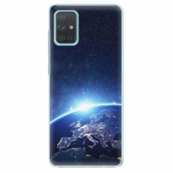 Plastové pouzdro iSaprio - Earth at Night - Samsung Galaxy A71