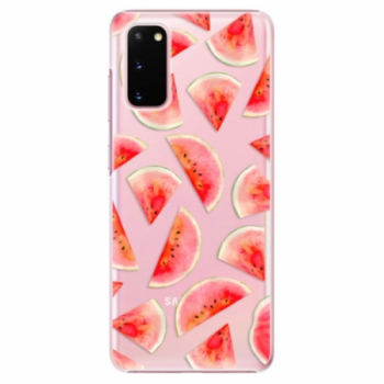 Plastové pouzdro iSaprio - Melon Pattern 02 - Samsung Galaxy S20
