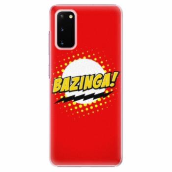 Plastové pouzdro iSaprio - Bazinga 01 - Samsung Galaxy S20
