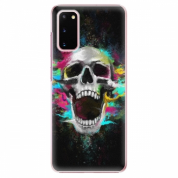 Plastové pouzdro iSaprio - Skull in Colors - Samsung Galaxy S20