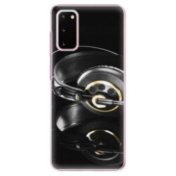 Plastové pouzdro iSaprio - Headphones 02 - Samsung Galaxy S20