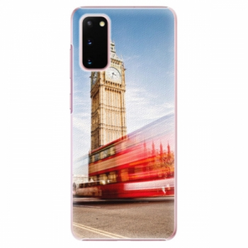 Plastové pouzdro iSaprio - London 01 - Samsung Galaxy S20