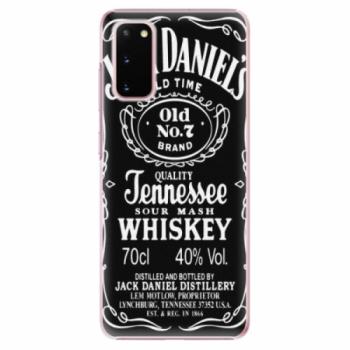 Plastové pouzdro iSaprio - Jack Daniels - Samsung Galaxy S20