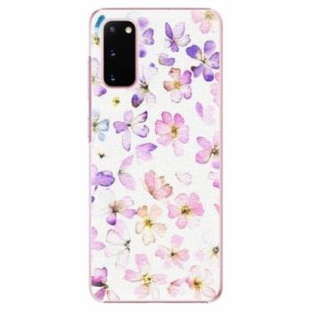 Plastové pouzdro iSaprio - Wildflowers - Samsung Galaxy S20