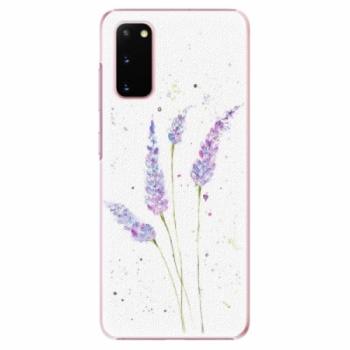 Plastové pouzdro iSaprio - Lavender - Samsung Galaxy S20