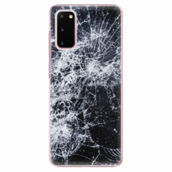 Plastové pouzdro iSaprio - Cracked - Samsung Galaxy S20
