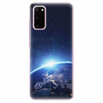 Plastové pouzdro iSaprio - Earth at Night - Samsung Galaxy S20