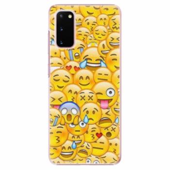 Plastové pouzdro iSaprio - Emoji - Samsung Galaxy S20