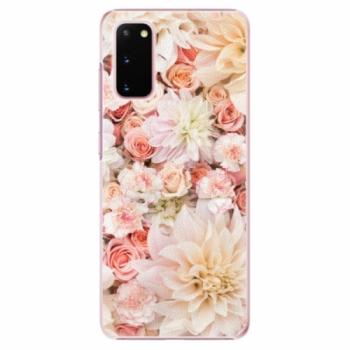 Plastové pouzdro iSaprio - Flower Pattern 06 - Samsung Galaxy S20
