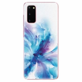 Plastové pouzdro iSaprio - Abstract Flower - Samsung Galaxy S20