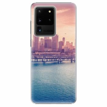 Plastové pouzdro iSaprio - Morning in a City - Samsung Galaxy S20 Ultra