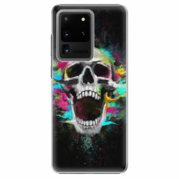 Plastové pouzdro iSaprio - Skull in Colors - Samsung Galaxy S20 Ultra