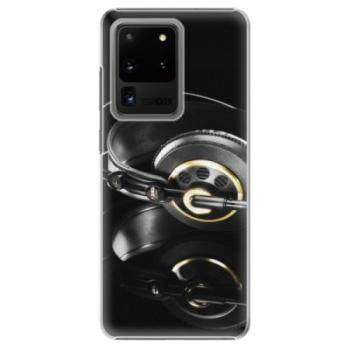 Plastové pouzdro iSaprio - Headphones 02 - Samsung Galaxy S20 Ultra