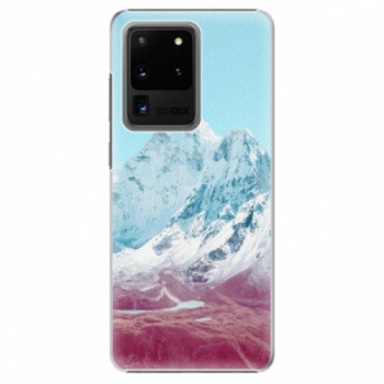 Plastové pouzdro iSaprio - Highest Mountains 01 - Samsung Galaxy S20 Ultra